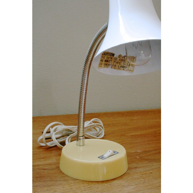 Mid-Century Modern Mid 20th Century Mod Gooseneck Desk Lamp For Sale - Image 3 of 6