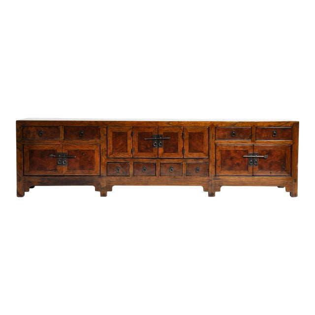 19th Century Chinese Kwang Chest With 8 Drawers For Sale