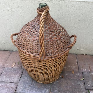 Vintage French Wrapped Demijohn Preview