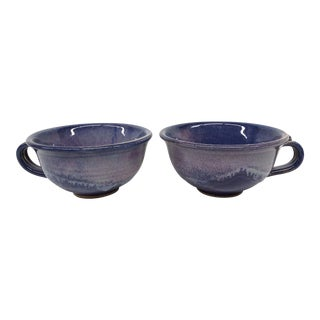 Hand Made Artisan Cup - A Pair