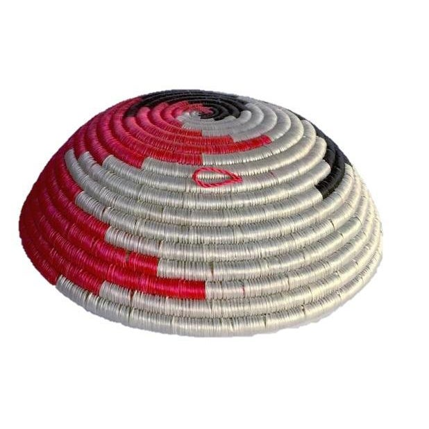 African Woven Basket - Image 4 of 8