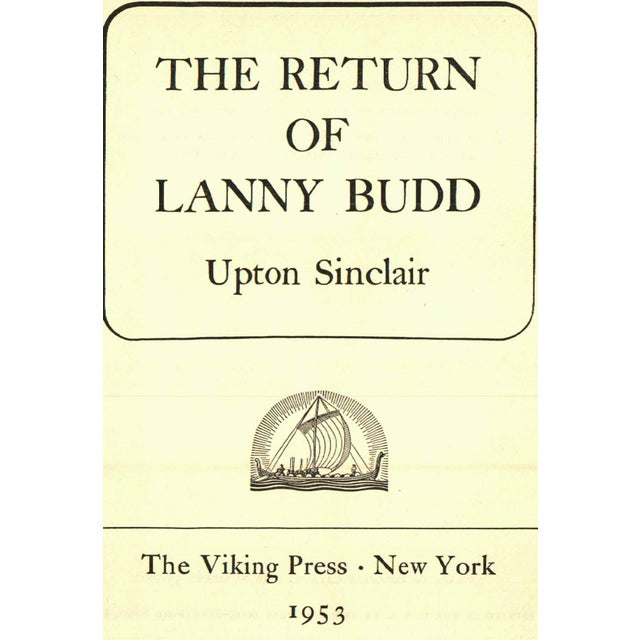 The Return Of Lanny Budd Chairish
