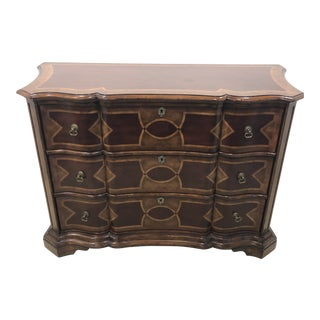 Vintage Traditional Drexel Heritage 3-Drawer Chest For Sale