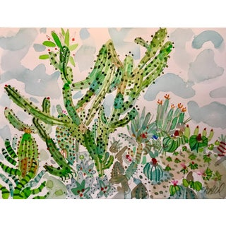 "Sonoran Party, Original Watercolor 11x15"" For Sale"