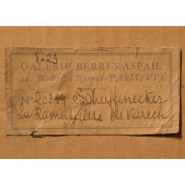 'La Ramasseuse De Varech' by Claude Emile Schuffenecker, 1883; Young Bretonne Kelp Gatherer, Paul Gauguin For Sale - Image 10 of 13