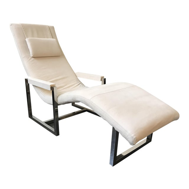 Ralph Lauren Home Loft Leather Chaise - Image 1 of 8