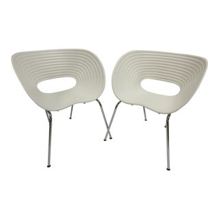 Vitra Tom Vac Ron Arad Chairs- a Pair For Sale