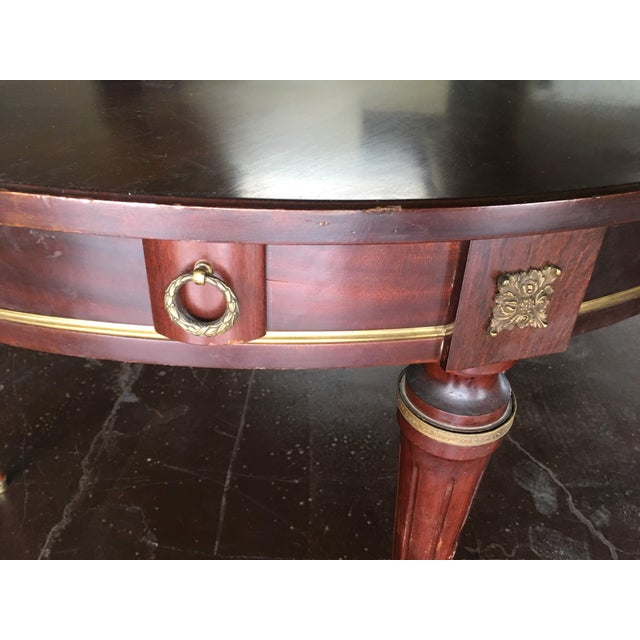 French Empire Style Circular Top Table For Sale - Image 4 of 9