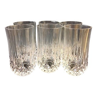 Long Champ Cristal D Arques Crystal Glasses - Set of 6