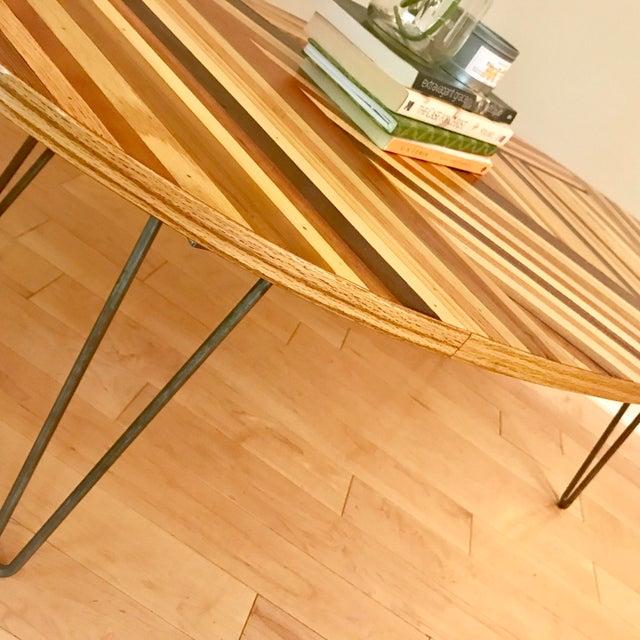 Oval Wood Coffee Table Chairish