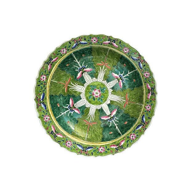 Butterfly & Firefly Lotus Oversize Bowl - Image 1 of 8