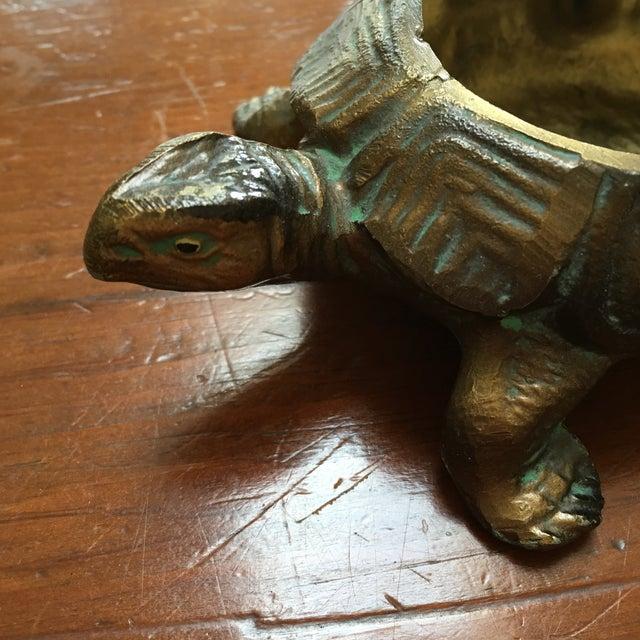Austrian Gilt Metal Turtle Ashtray - Image 4 of 7