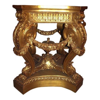Antique Pair of Magnificent Pedestals For Sale