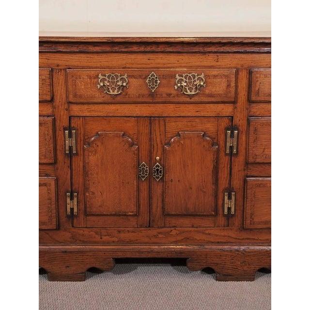 Antique English Dresser Base For Sale - Image 4 of 8