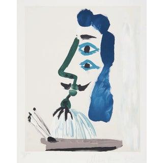 """Picasso, """"Le Peintre Et Sa Palette,"""" Lithograph For Sale"""