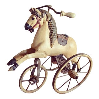 Antique Horse Tricycle Velocipede