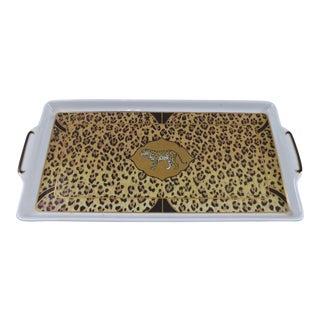 Lynn Chase Amazonian Jaguar Serving Plate