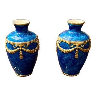 Paul Milet Sevres Vases - a Pair For Sale