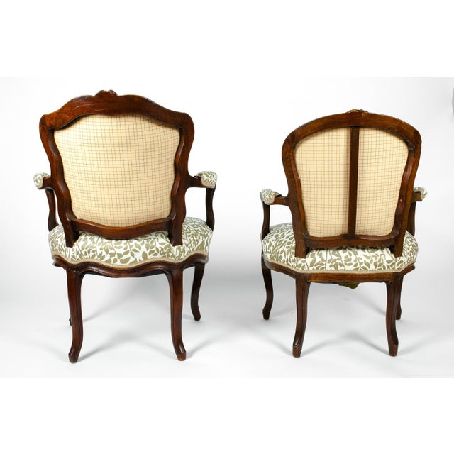 Early 19th Century Louis XVI Side Armchairs - a Pair For Sale - Image 11 of 13