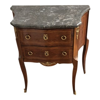 Early 20th Century Antique French Bedside Table For Sale