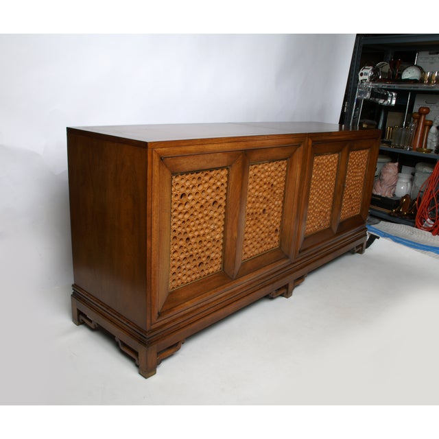Signed Pierre Bartet Walnut Bar Cabinet - Image 3 of 11