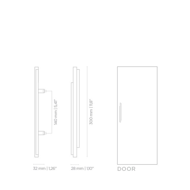 Not Yet Made - Made To Order Covet Paris Skyline Cm3014 Door Pull For Sale - Image 5 of 6