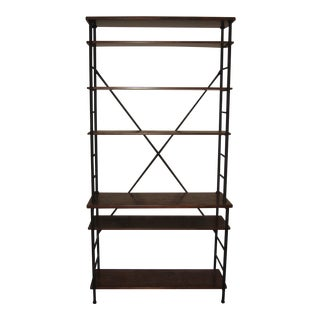 Ballard Designs Tubular Metal Bookcase