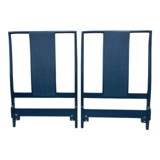 Pair Vintage Ming Style Twin Beds For Sale