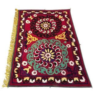 Vintage Suzani Textile For Sale