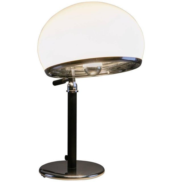 """Rare """"Bino"""" Table Lamp by Gregotti, Meneghetti, Stoppino for Candle For Sale - Image 6 of 6"""