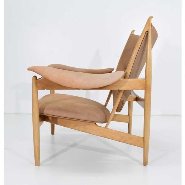 Finn Juhl Finn Juhl Chieftain Chair and Ottoman by Baker For Sale - Image 4 of 13