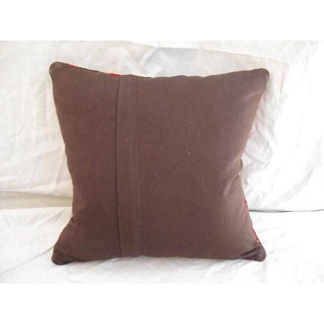 Turkish Kilim Pillow - Image 4 of 4