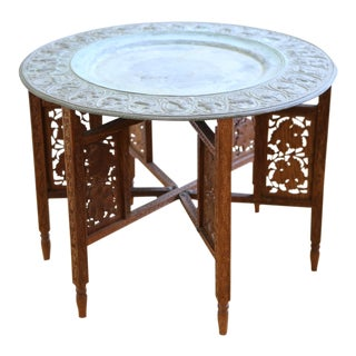 Moroccan Tray Accent Table