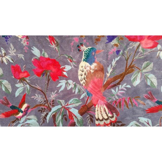 Vibrant Chinoiserie Velvet - Image 3 of 4