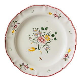 French Faience Meret a Moustiers Platter