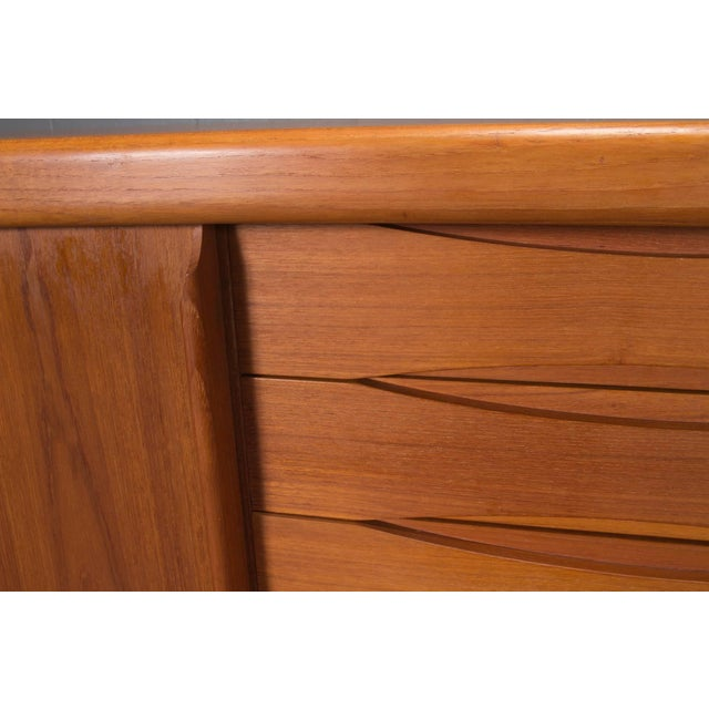 Teak Danish Modern Teak Sideboard For Sale - Image 7 of 10