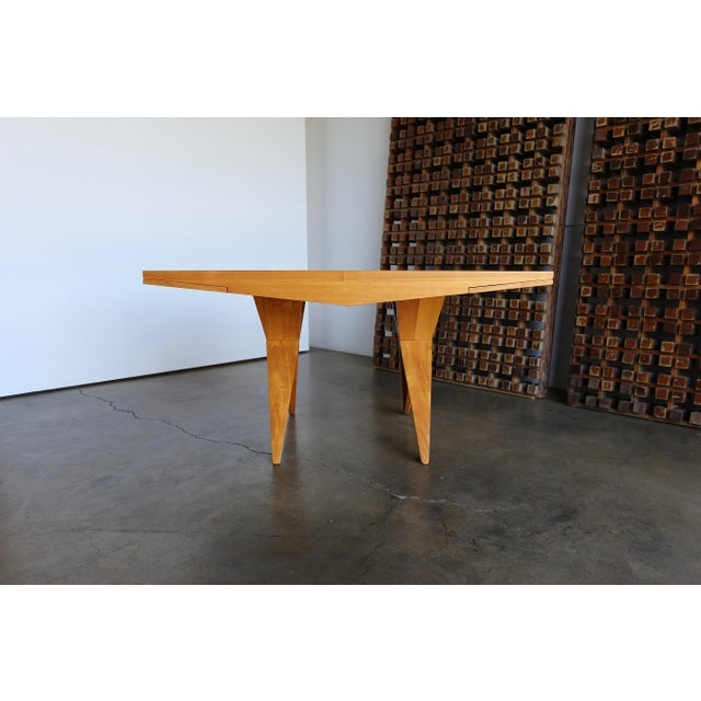 1940s Dan Johnson Dining Table For Sale - Image 9 of 10