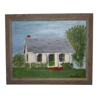 Little House on Church Street Painting