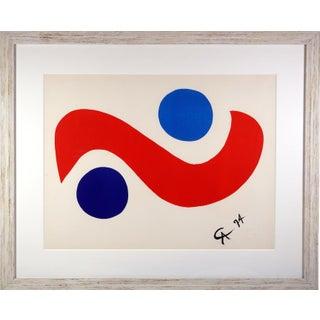 Alexander Calder Skybird Silkscreen