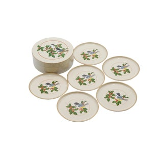 Lacquered Coasters by Otagiri - Set of 6 For Sale