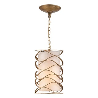 Small Bracelet Lantern in Gilded Iron From Visual Comfort For Sale
