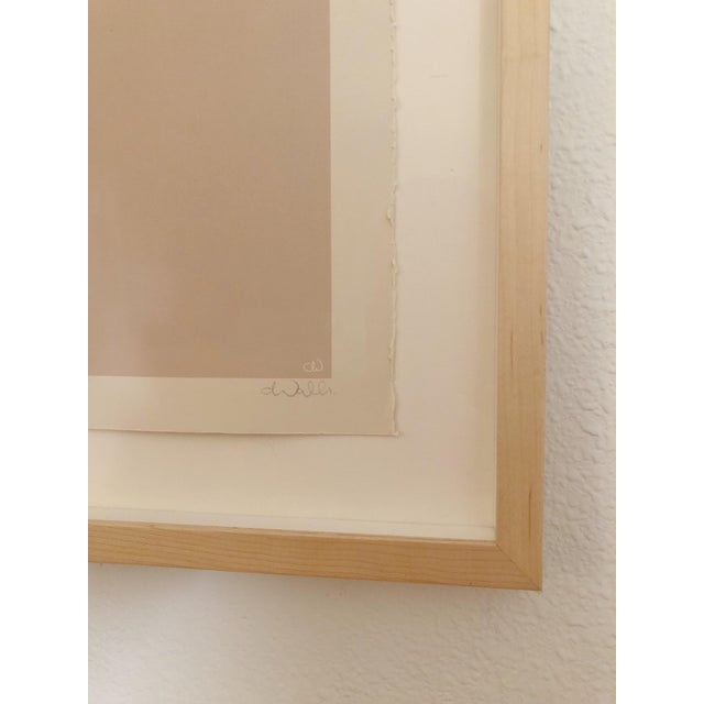 Abstract Framed Caroline Walls Limited Edition Print For Sale - Image 3 of 4