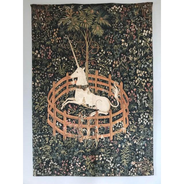 1970s Vintage Jp Paris Panneaux Gobelins Tapestry For Sale - Image 10 of 10