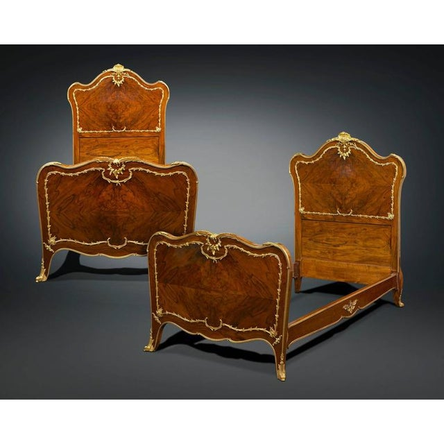 Rococo Style Twin Beds - A Pair - Image 2 of 8
