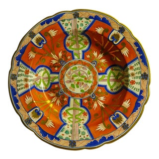 Worcester Imari Soup Plate For Sale