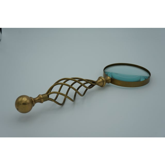Mid-Century Letter Opener & Magnifying Glass Set For Sale - Image 6 of 8