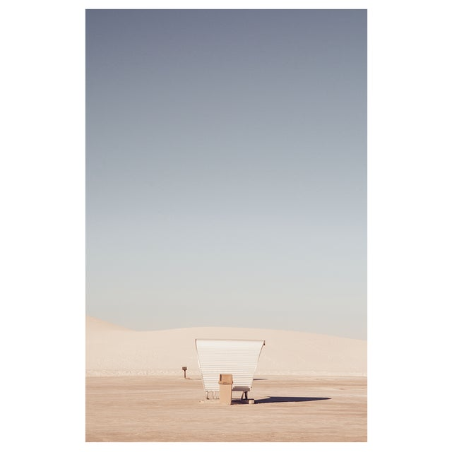 Contemporary White Sands Original Framed Photograph For Sale - Image 3 of 6