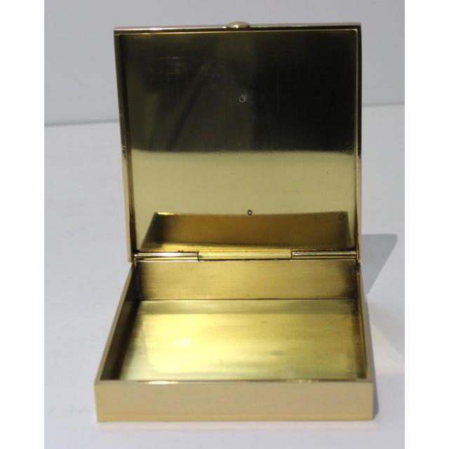 Vintage Vassilis Zoulias. Brass Box For Sale - Image 4 of 13
