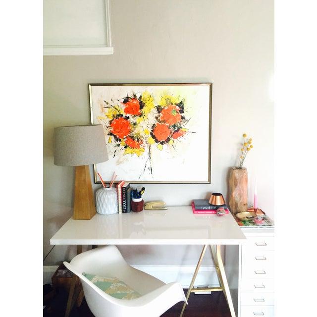 Sara Masterson Flowers Painting - Image 3 of 3