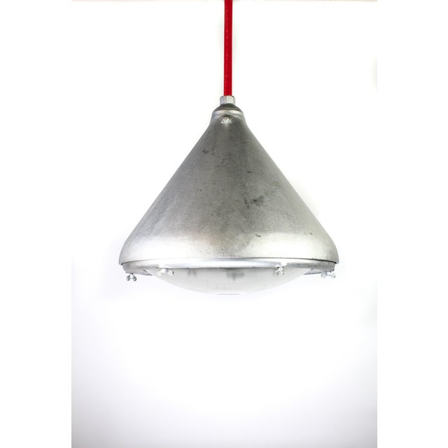 Rare vintage appleton industrial pendant light image 2 of 8